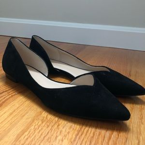 Marc Fisher Shoes - Black velvet Marc Fisher Flats